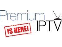 IPTV Subscription 6 months All Channels Android Magbox Zgemma V9S Easy Setup Professional Server.**