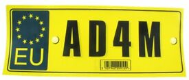 Name Stickers for cars or homes normally £1 Now only from 10p Absolute Margin Everything Must Go