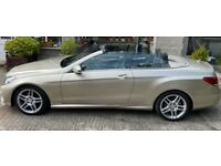 Mercedes-Benz, E CLASS, Convertible, 2014, Semi-Auto, 2987 (cc), 2 doors