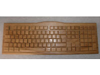 Wooden Keyboard with Mechanical switches (Cherry MX Red)
