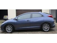Honda, CIVIC, Hatchback, 2014, Manual, 1339 (cc), 5 doors
