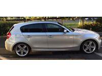 2009 BMW 123d M SPORT, CAT D, 5dr, SAT NAV, fsh