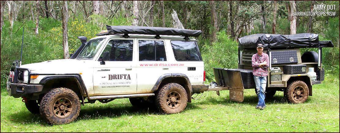 DRIFTA CAMPING & 4WD