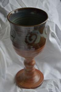 Island stoneware goblet