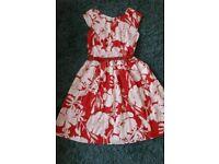 Gorgeous linen dress size 14