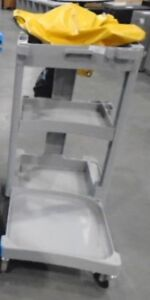 Rubbermaid 6150 utility/standard janitor cart..USED... $70 EACH.