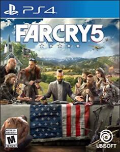 Brand new sealed copy of Far Cry 5 for PS4