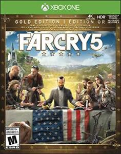 Farcry 5 Gold Édition xbox one