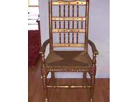 Lovely old carver style chair £28.00 ono