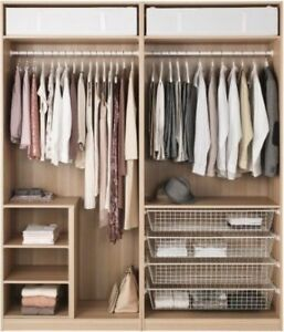Metal mesh drawer for IKEA armoire