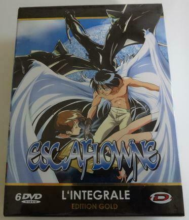 The Vision of Escaflowne TV Series DVD-BOX French ver. Unused Mint From Japan 6A