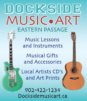 Thursday piano lessons -afternoon and evening- at Dockside