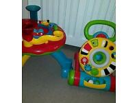 Early learning centre activity table and walker