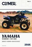 Yamaha Warrior Manual