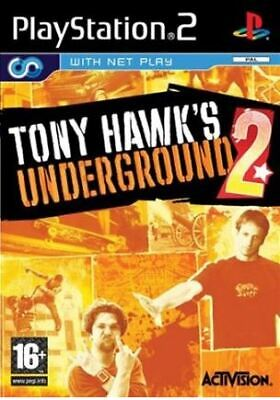 Tony Hawk's Underground 2 (PS2) 1st Class Good Condition Video Games