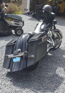 TOL Hooligan Bags/Fender/Side Covers(Harley Touring 08 - down)