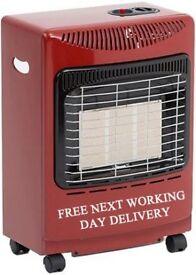 Red Mini Butane Portable Gas Heater
