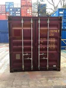 20' Shipping Containers delivered to Gladstone - $2400.00 +GST Gladstone Gladstone City Preview