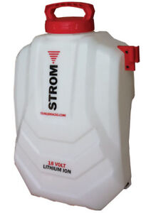 Strom Electric Backpack Sprayer - Model QA101