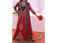 Bollywood/Indian/Pakistani Modern Bridal outfit from Guls, Ilford Lane. R.R.P £3,500