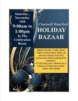CHARTWELL WATERFORD ANNUAL HOLIDAY BAZAAR