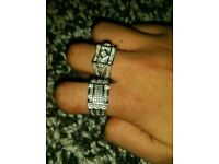 Ice rings (not Armani,true religion,moncler,stone island,cp,gucci,boss,dsquared)