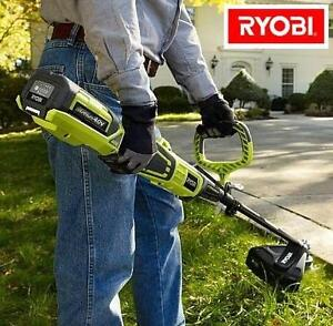 NEW RYOBI CORDLESS STRING TRIMMER 40V LITHIUM-ION - EXPAND-IT LANDSCAPING LAWN TRIMMERS EDGER EDGERS OUTDOORS 102180844