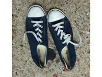 Converse all stars navy size 7
