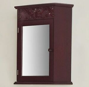 Mirrored Medicine Cabinet, New