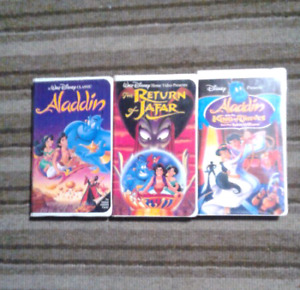 Aladdin collections Walt Disney movies on VHS Excellent