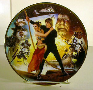 Star Wars Return of the Jedi Trilogy Collection Plate