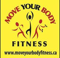 MOVE YOUR BODY...Inspire a better life
