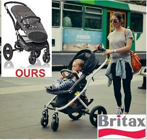 NEW OB BRITAX AFFINITY STROLLER NEW OPEN BOX - BLACK - Baby  Travel Gear  Strollers KID'S 106157365