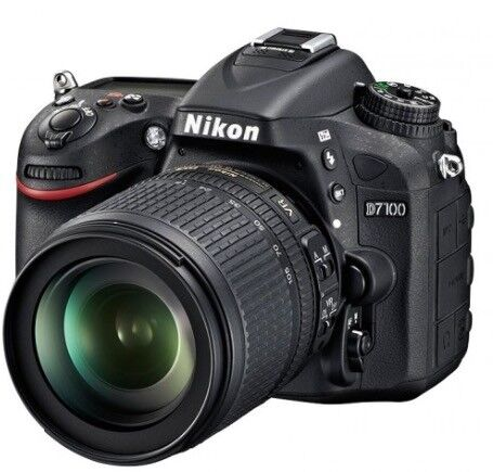Nikon D7100 Camera Body With Wu 1a Wireless Mobile Adapter In