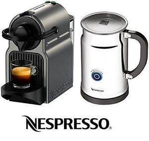 NEW* NESPRESSO ESPRESSO MAKER INISSIA WITH AEROCCINO PLUS MILK FROTHER COFFEE MACHINE SMALL APPLIANCE HOME
