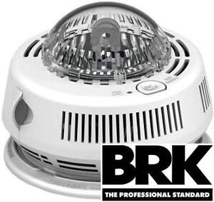 NEW BRK SMOKE ALARM STROBE LIGHT PHOTOELECTRIC Home Improvement  Security FIRE SAFETY