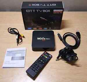 Android and iptv box