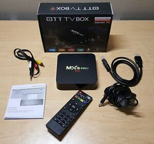 Android box with 1 month TV Subscription