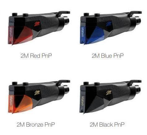 Ortofon 2M Red, Blue, Bronze, Black PNP vanaf 129.00 !!