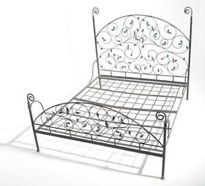 vintage double bed frame