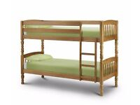 Bunk Bed single modern solid pine.