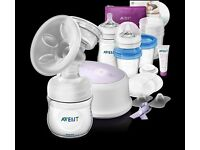 Philips AVENT SCF332 Comfort Single Electric Breast Pump (plus accessories)