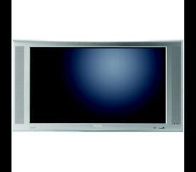 50 in phillips flat screen tv bundle