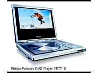 Philips Portable DVD Player PET710