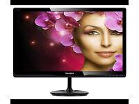 "BRAND NEW Philips E-line 227E4LHA - LED monitor - 21.5"""