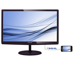 Philps LCD Monitor with Soft blue technology