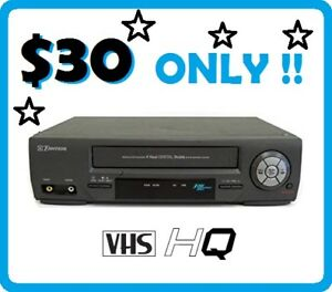 Emerson VCR + OEM Remote !! (EV477) --- $30 ONLY !!