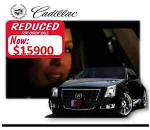 2008 Cadillac CTS Black Cherry Sedan