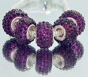 Purple European Beads