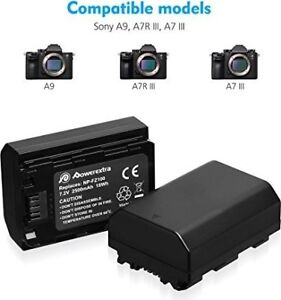 SONY A9 /A7RIII/ A7III Battery NP-FZ100 And USB Charger